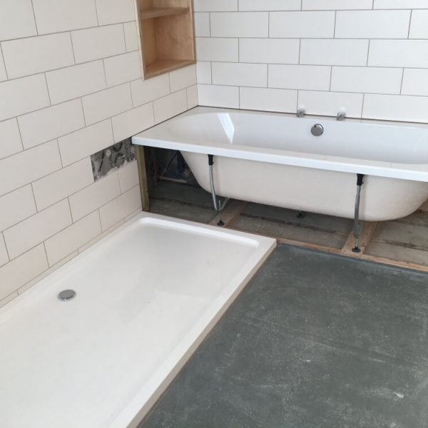 Montáž sprchovej vaničky na podlahu Bratislava
